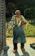 Emile Claus The Old Gardener china oil painting reproduction
