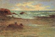 Emile Schuffenecker Corner of a Beach at Concarneau china oil painting reproduction