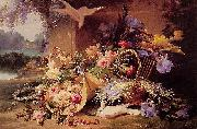 Eugene Bidau Still Life with Flowers china oil painting reproduction