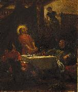 Eugene Delacroix The Disciples at Emmaus, or The Pilgrims at Emmaus china oil painting reproduction