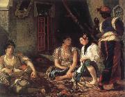 Eugene Delacroix apartment china oil painting reproduction