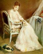 Eva Gonzales Woman in White china oil painting reproduction