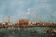 Francesco Guardi Venice from the Bacino di San Marco china oil painting reproduction