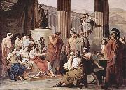 Francesco Hayez Ulysses at the court of Alcinous china oil painting reproduction
