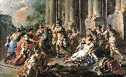 Francesco de mura Horatius Slaying His Sister after the Defeat of the Curiatii china oil painting reproduction