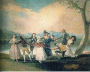 Francisco de Goya Das Blindekuhspiel china oil painting reproduction
