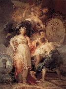 Francisco de Goya Allegory of the City of Madrid china oil painting reproduction