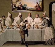 Francisco de Zurbaran San Hugo en el Refectorio china oil painting reproduction