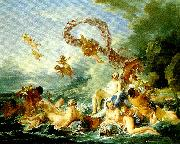 Francois Boucher venus triumf china oil painting reproduction