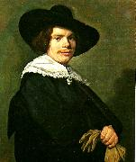 Frans Hals mansportratt china oil painting reproduction