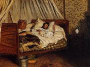 Frederic Bazille Monet after His Accident at the Inn of Chailly china oil painting reproduction