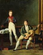 French school Musician and his family china oil painting reproduction