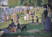 Georges Seurat A Sunday afternoon on the is land of la grande jatte china oil painting reproduction