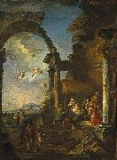 Giovanni Paolo Panini Adoration of the Shepherds china oil painting reproduction