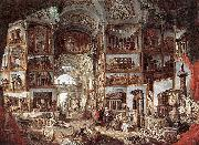 Giovanni Paolo Pannini Galerie de vues de la Rome antique china oil painting reproduction