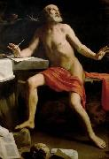 Guido Cagnacci Hl. Hieronymus china oil painting reproduction