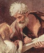 Guido Reni Hl. Matthaus Evangelist und der Engel china oil painting reproduction