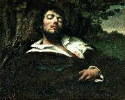 Gustave Courbet The Wounded Man china oil painting reproduction
