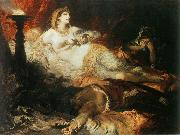 Hans Makart Der Tod der Kleopatra china oil painting reproduction