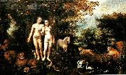 Hans Rottenhammer adam och eva i paradiset china oil painting reproduction