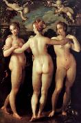 Hans von Aachen The Three Graces china oil painting reproduction