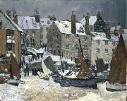 Hayley Lever Winter, St. Ives china oil painting reproduction
