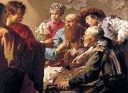 Hendrick ter Brugghen Calling of St. Matthew china oil painting reproduction