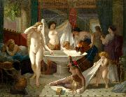 Henri-Pierre Picou Young women bathing. china oil painting reproduction
