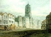 J.M.W.Turner christ church from near carfax china oil painting reproduction