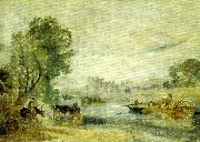 J.M.W.Turner hampton cour from the thames china oil painting reproduction