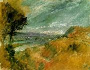 J.M.W.Turner mosel from the hillside at pallien china oil painting reproduction