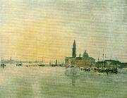 J.M.W.Turner venice san giorgio maggiore from the dogana china oil painting reproduction