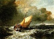 J.M.W.Turner dutch boats in a gale china oil painting reproduction
