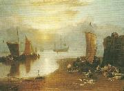 J.M.W.Turner sun rising through vapour china oil painting reproduction