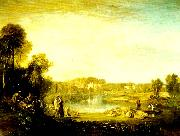 J.M.W.Turner pope's villa at twickenham china oil painting reproduction