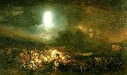 J.M.W.Turner the field of waterloo china oil painting reproduction