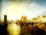 J.M.W.Turner harbour of dieppe china oil painting reproduction
