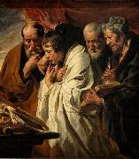 Jacob Jordaens The Four Evangelists china oil painting reproduction