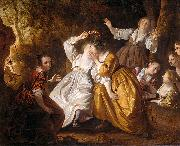 Jacob van Loo Amarillis crowning Mirtillo china oil painting reproduction