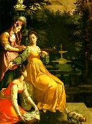 Jacopo da Empoli susanna i badet china oil painting reproduction
