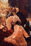 James Tissot A Woman of Ambition (Political Woman) also known as The Reception china oil painting reproduction