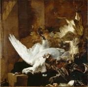 Jan Baptist Weenix Still Life with a Dead Swan china oil painting reproduction