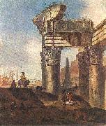 Jan Baptist Weenix Ancient Ruins china oil painting reproduction