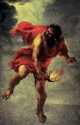 Jan Cossiers Prometheus Carrying Fire china oil painting reproduction