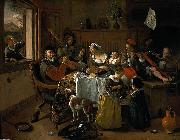 Jan Steen merry family china oil painting reproduction
