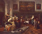 Jan Steen Christening china oil painting reproduction