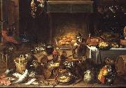 Jan Van Kessel Monkeys Feasting china oil painting reproduction