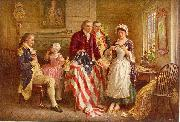 Jean Leon Gerome Ferris Betsy Ross 1777 china oil painting reproduction