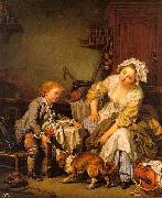 Jean-Baptiste Greuze The Spoiled Child china oil painting reproduction