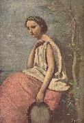 Jean-Baptiste-Camille Corot La Zingara china oil painting reproduction